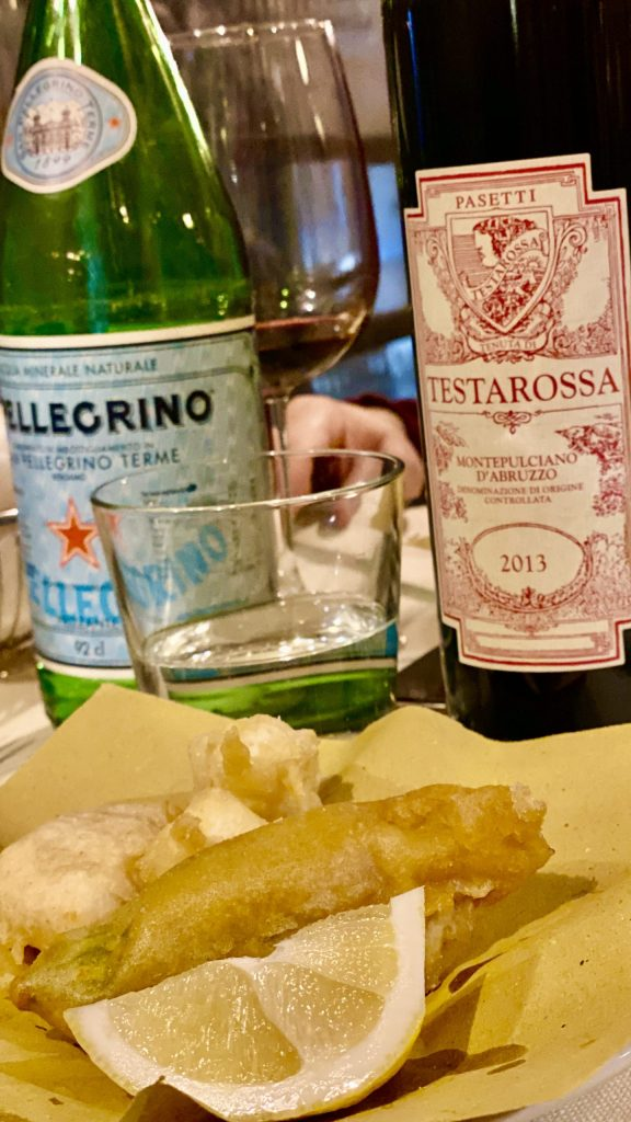 Matricianella is one of the best restaurants in Rome for great wine.