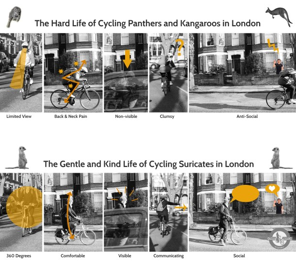 Cycling differences in London