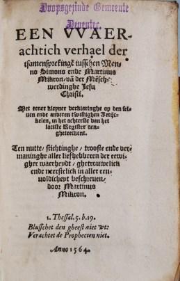 Marten Micron, 1564 (Jaspers & Meeder, #22)