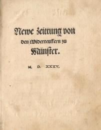 Newe Zeittung, 1535 (Jaspers & Meeder #23)