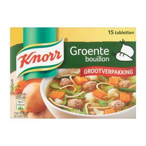 Knorr groente Bouillon grootverpakking 15/1