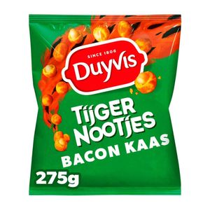 Duyvis Tijgernootjes bacon cheese