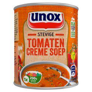 Unox Soep in blik stevige tomaten-cremesoep 800ml