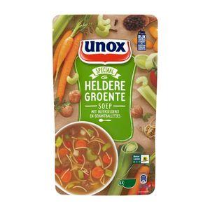 Unox Soep in zak heldere groentesoep