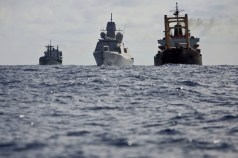 The need to defend and support (European commcercial shipping also with training and Convoy duty operations.)