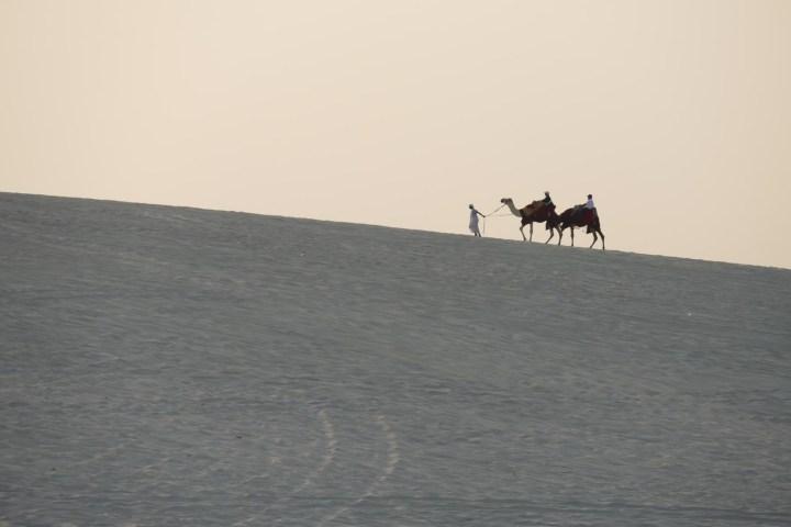 Slapen in de woestijn