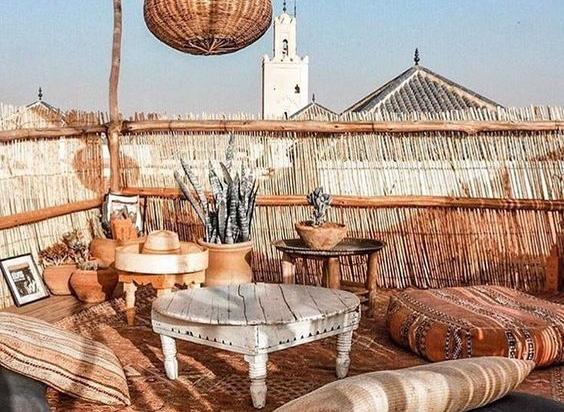 Een vakantie gevoel creëren op je balkon of in je tuin