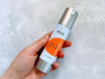 Image Ormedic balancing facial cleanser & Image Vital C review