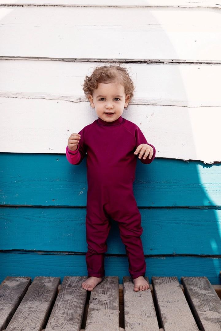 Tenue de soleil uv werende badkleding voor kinderen