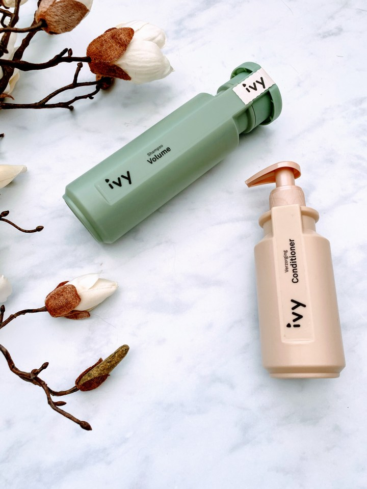 Ivy Hair Care Volume Shampoo & Ivy Conditioner