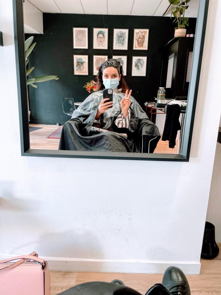 Lotte's haarkleuring avontuur