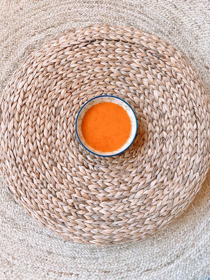 Zonnige soep