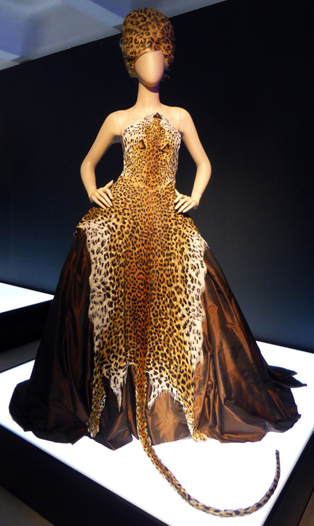 African inspired gown