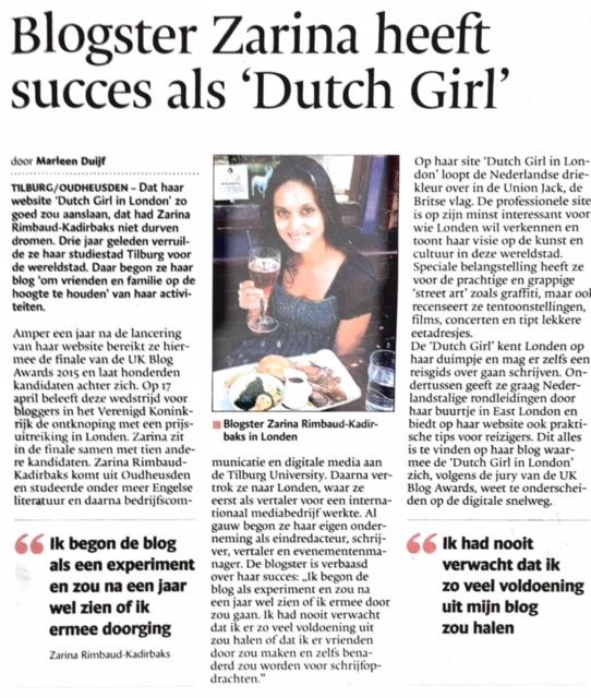 Brabants Dagblad 15-04-2015