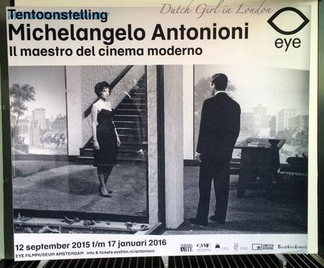 Exhibition: Michelangelo Antonioni – Il Maestro del Cinema Moderno