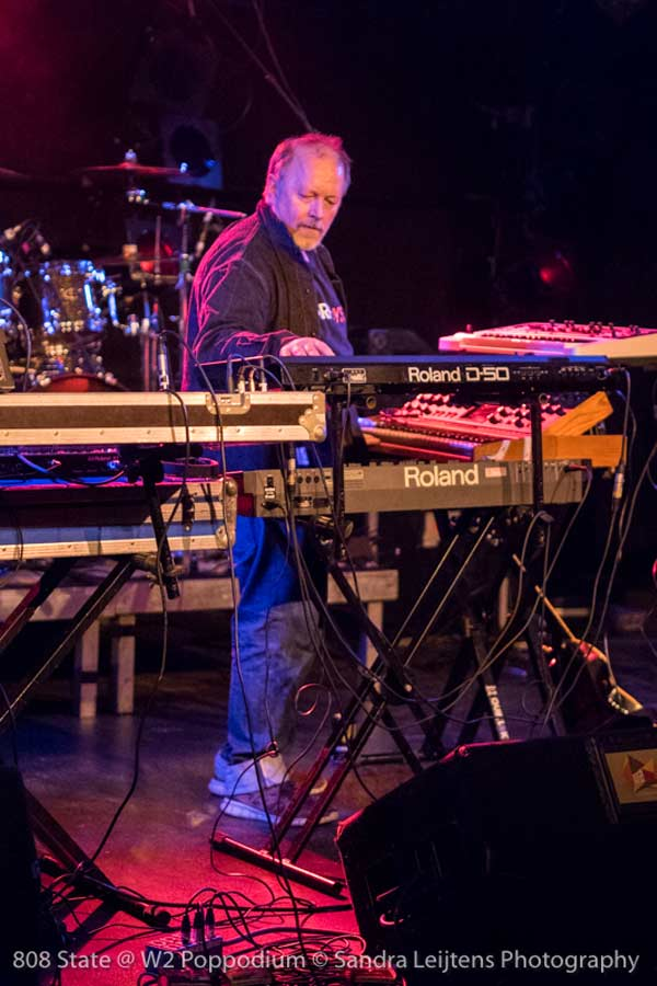 808 State live in W2 in Den Bosch, the Netherlands