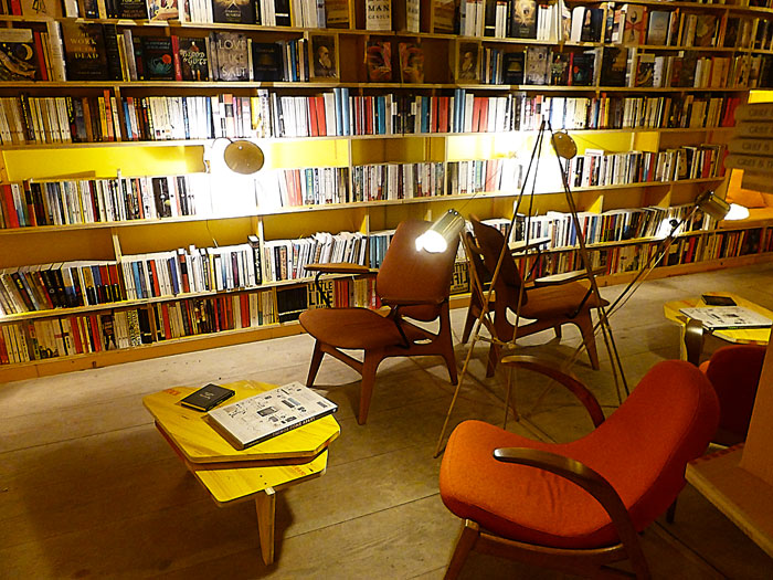 Libreria-bookshop-seats-London