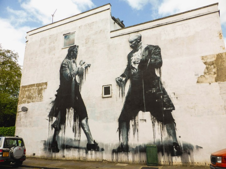 mural by Conor Harrington in Dulwich
