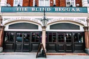 The Blind Beggar pub in Whitechapel, London