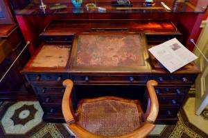 Charles Dickens's study