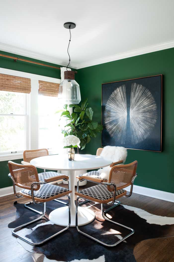 Emerald Green Dining Room Inspiration