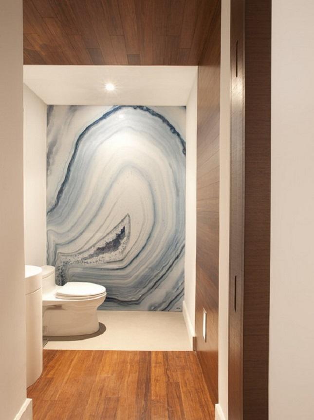 Agate Marble Bathroom Wall | DutchieLove