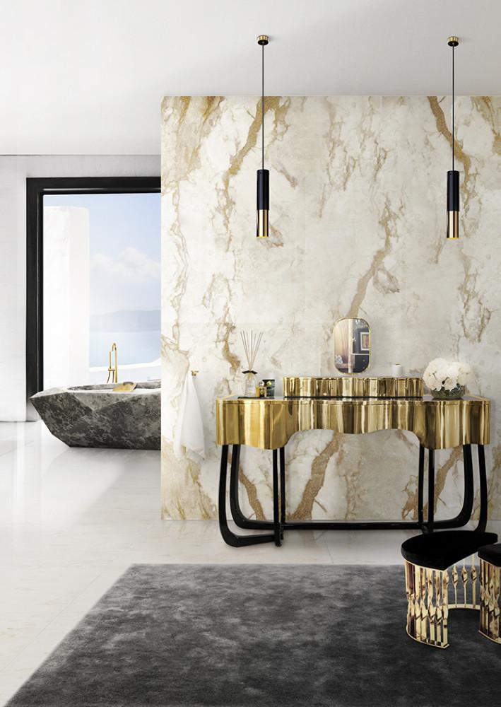 Agate Marble Neutral Wall | DuchieLove