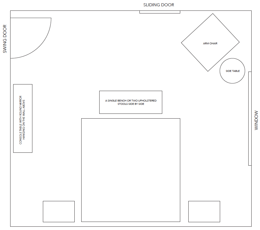 Bedroom Makeover Floorplan