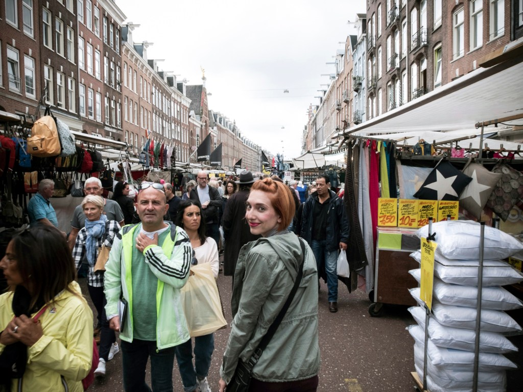 Albert Cuyp Market in Amsterdam, Netherlands - Dutchie Love