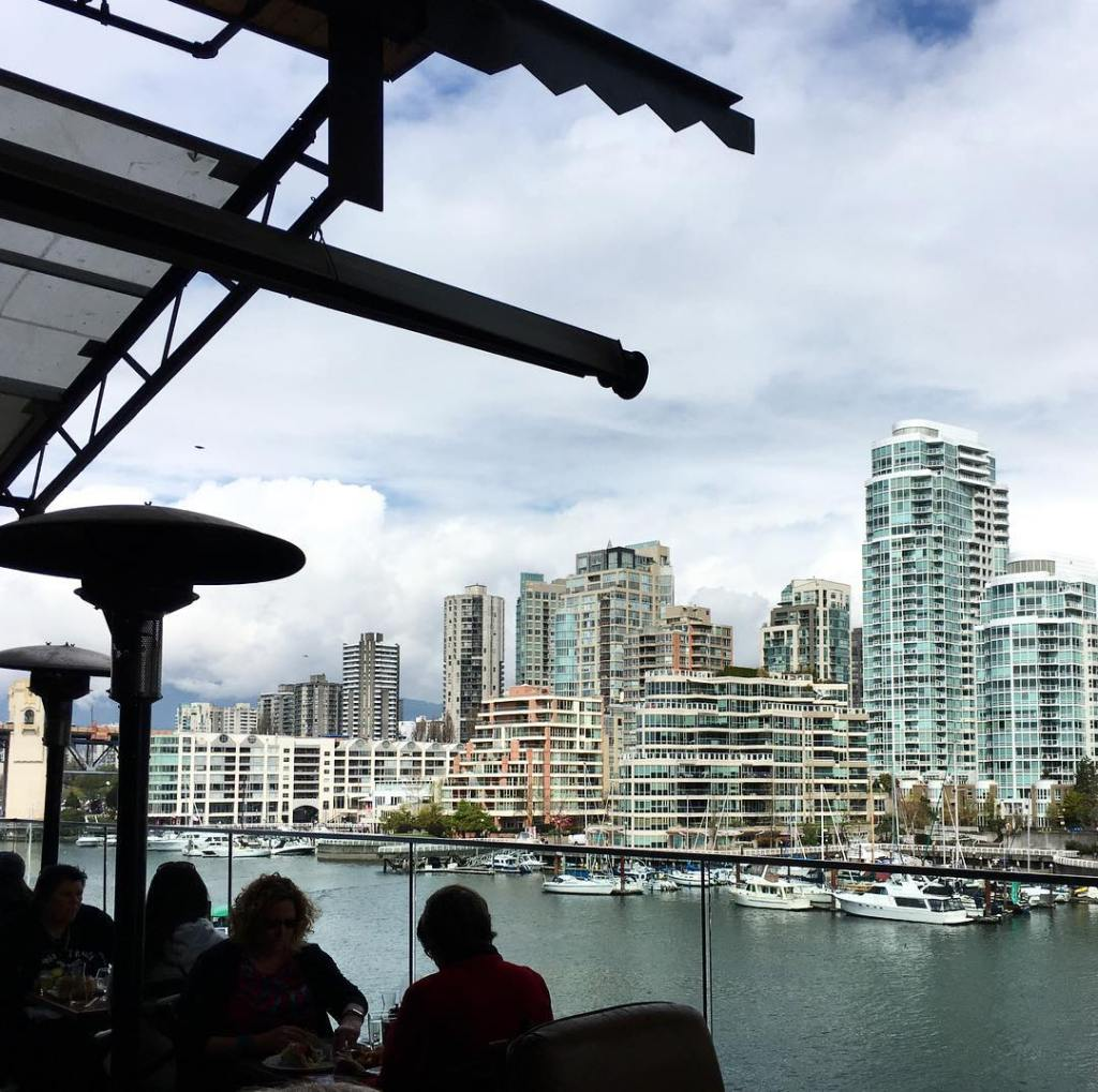Lunch with a view! Our stay in Vancouver was sweethellip