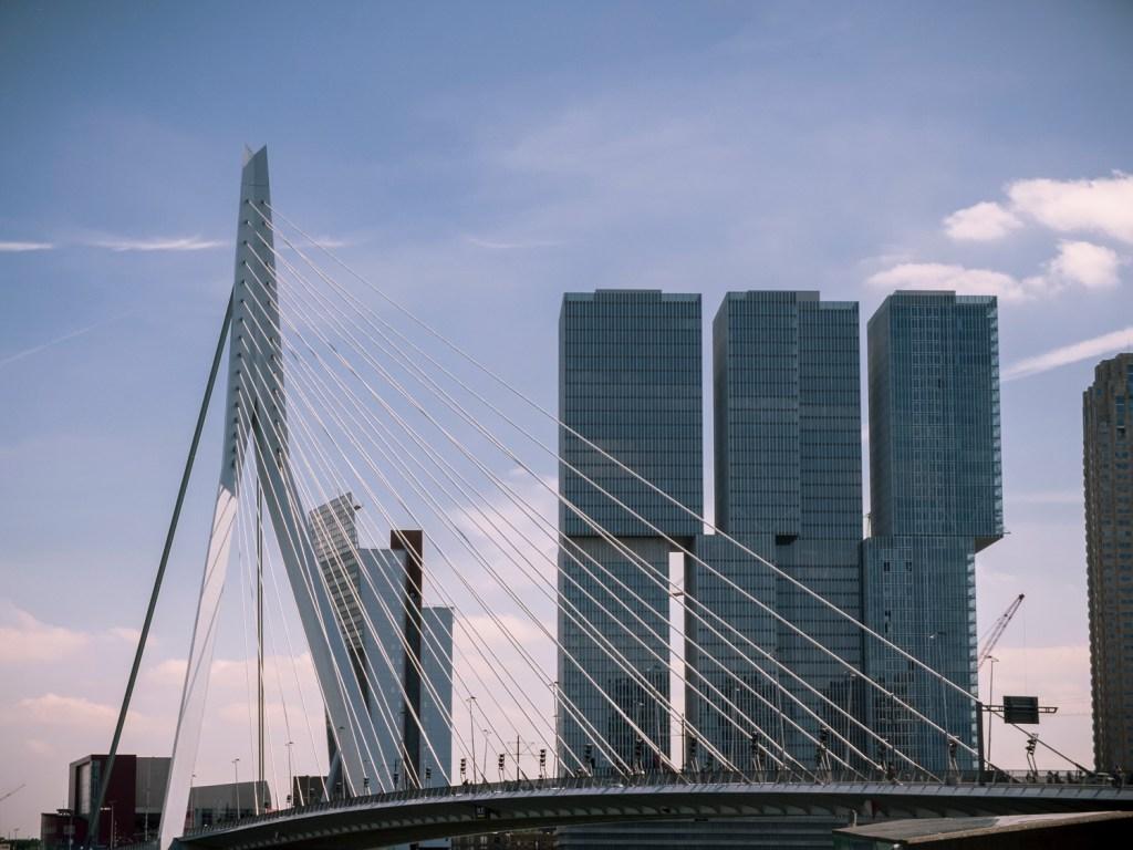Erasmus Bridge Rotterdam Dutchie Love
