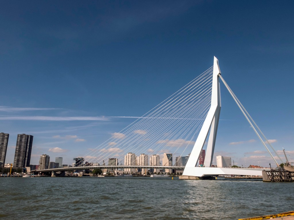 Erasmus Bridge Rotterdam Dutchie Love