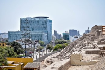 Huaca Pucllana Temple in Lima