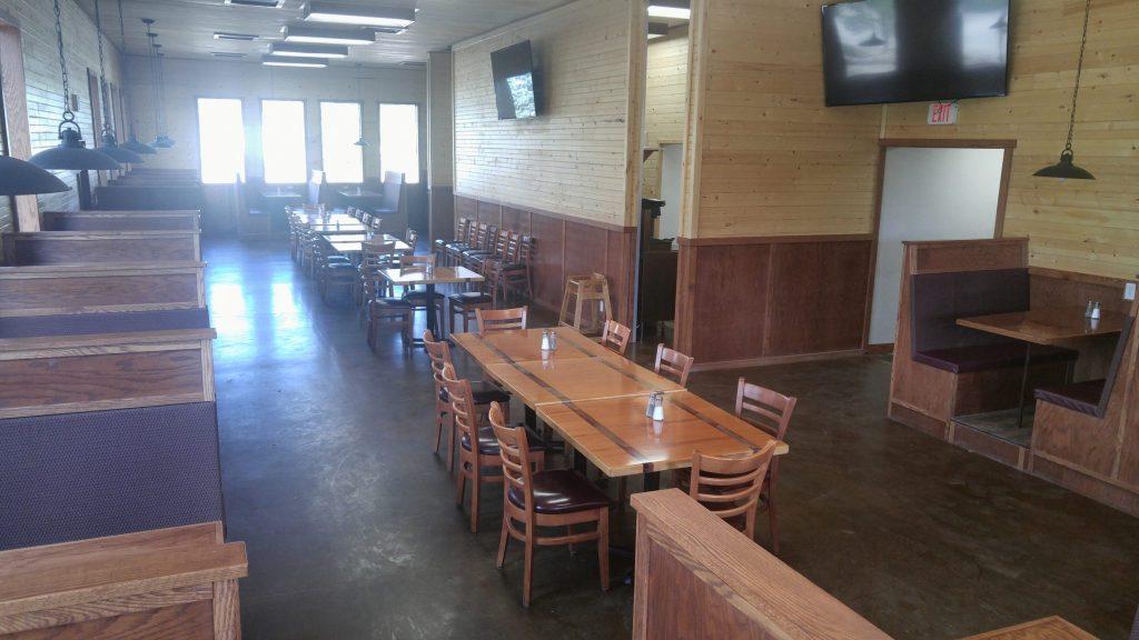 Restaurant corner