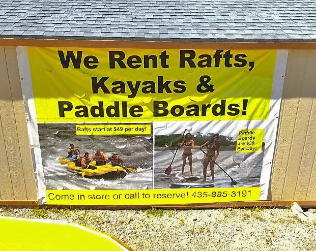 Raft Rentals Dutch John Resort