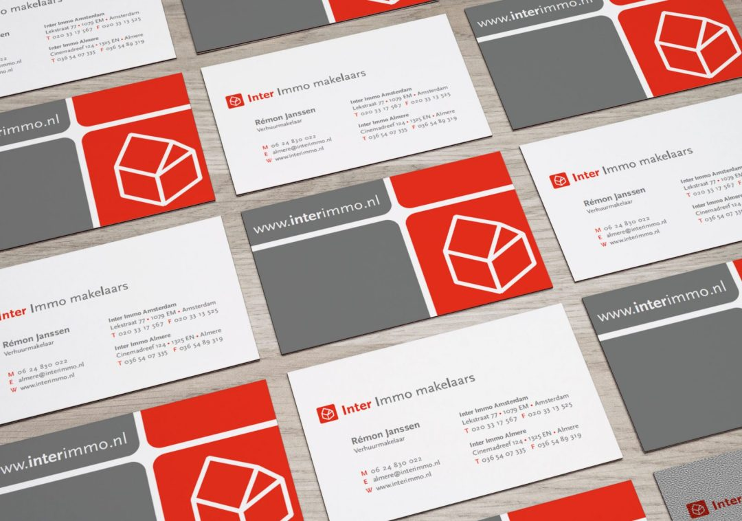 Business Cards Inter Immo Makelaars