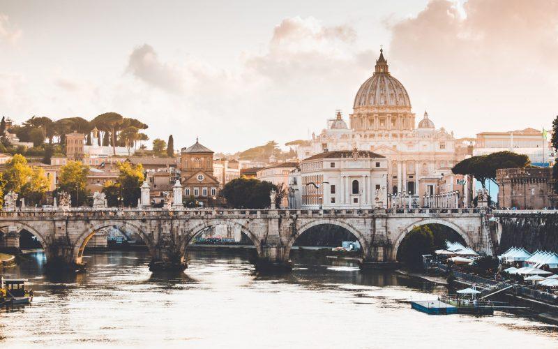 Rivier Tiber Rome