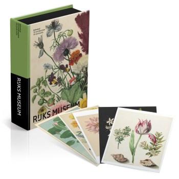 Postcard box Rijkmuseum Flower Botanical Prints