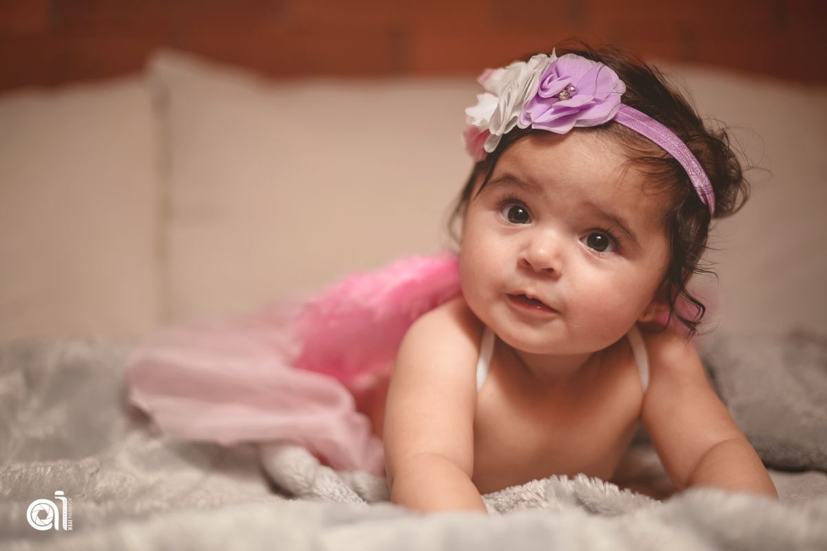 Laddoo at her baby shoot