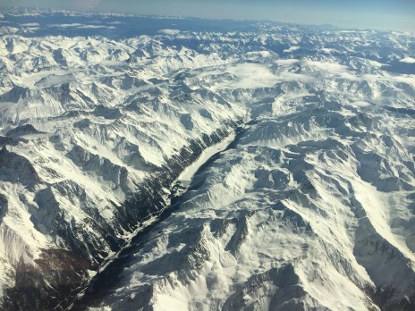 Challenging approach into Samedan
