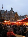 Christmas market at the old market place