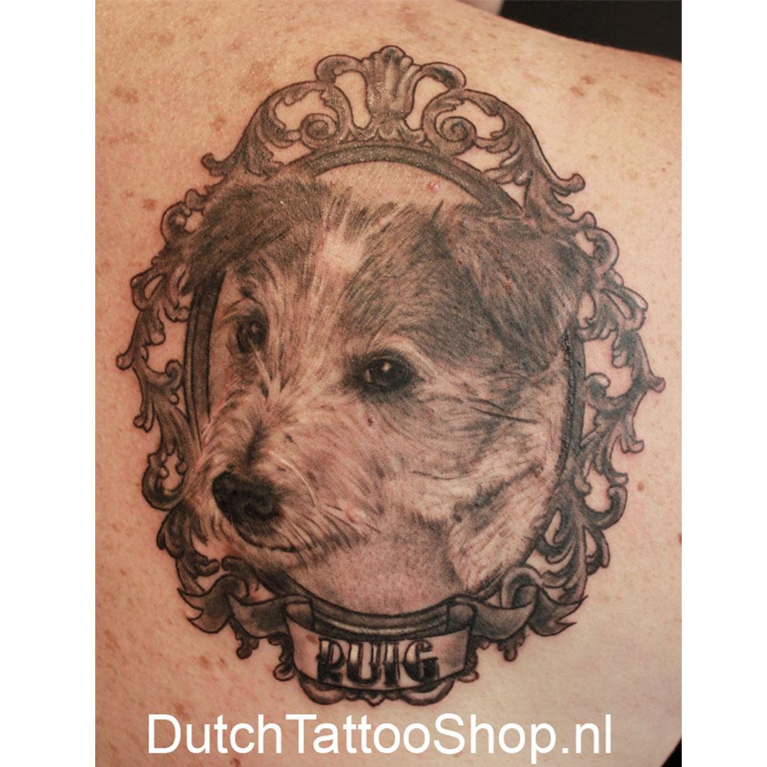 hond-portret--dog-portrait-3d-tattoo