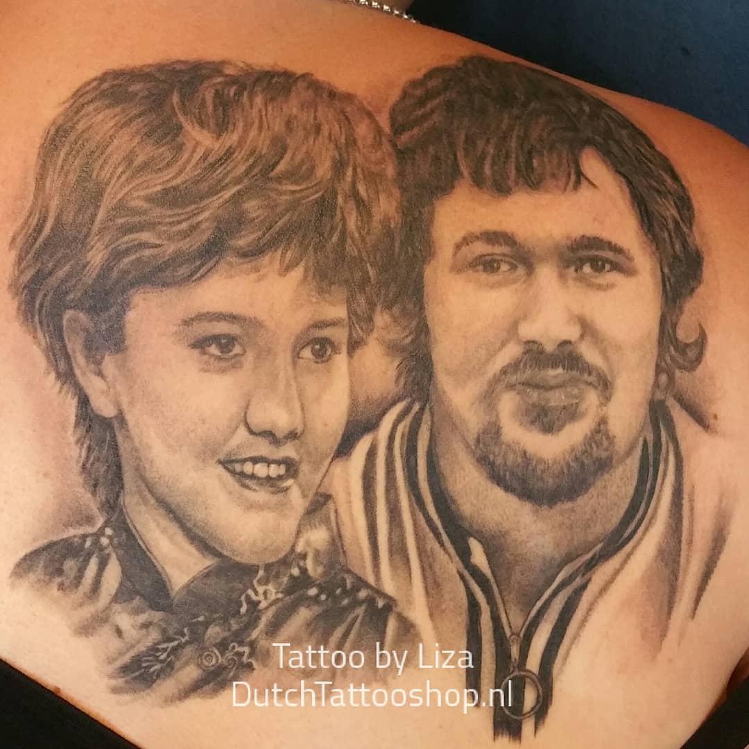 portret-tattoo-ouders-vader-moeder-portrait-realistic-black