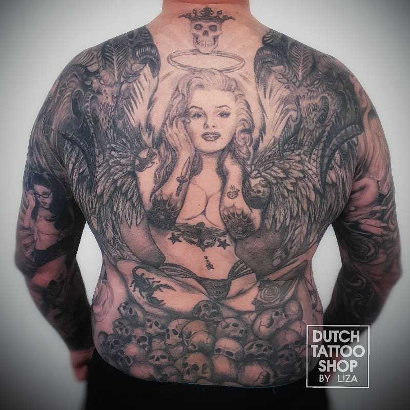 rugstuk-portret-pin-up-duivels-sleeves-tattoo-helemaal-vol