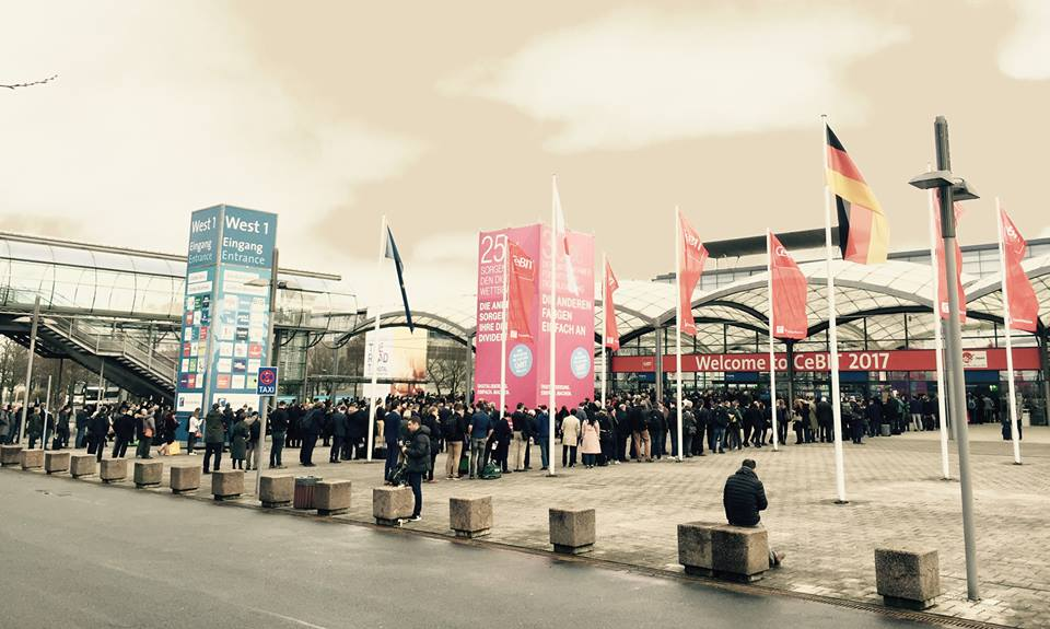 CeBIT Hannover 2017 Event DutchVR Virtual Reality