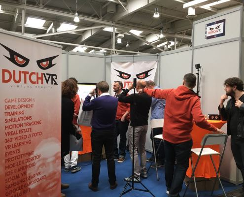 DutchVR @ CeBIT 2017 Hannover Germany Virtual Reality