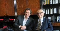Benoit Duteurtre et Pierre Cardin