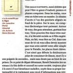 Benoît Duteurtre, L'Ordinateur du Paradis, Stanislas Ricot, Page des libraire, 19 août 2014