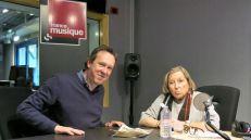 Benoît Duteurtre & Sylvie Février , studio 132, 25 février 2017