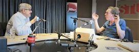 Benoît Duteurtre, Étonnez-moi Benoît, France Musique, Christophe Mirambeau, studio 131, 08 septembre 2018, photo de Annick Haumier
